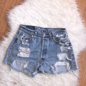 Vintage 501 Levi's shorts